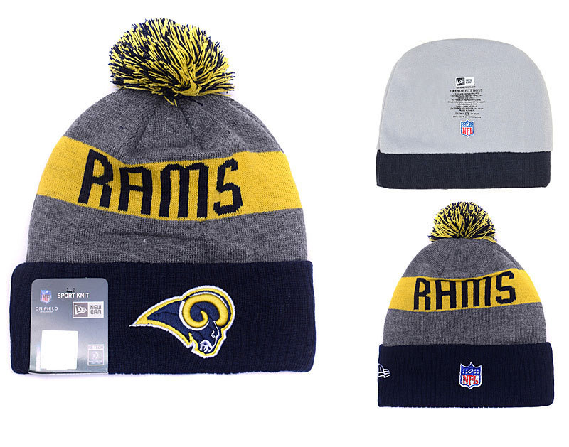 NFL Los Angeles Rams Stitched Knit Hats 013