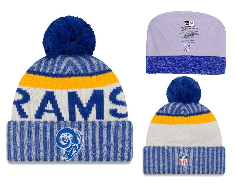 NFL Los Angeles Rams Stitched Knit Hats 001
