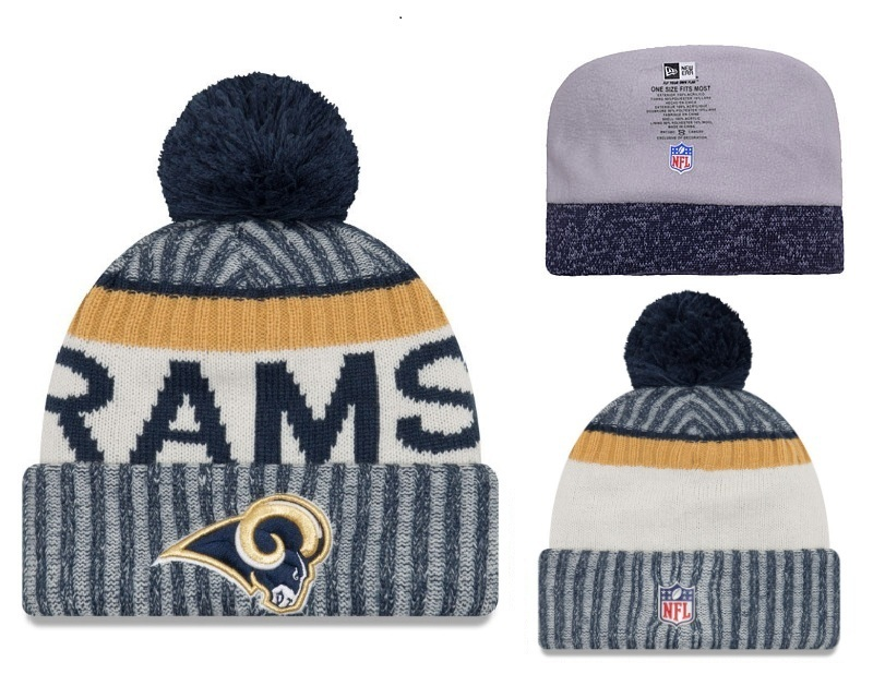 NFL Los Angeles Rams Stitched Knit Hats 002
