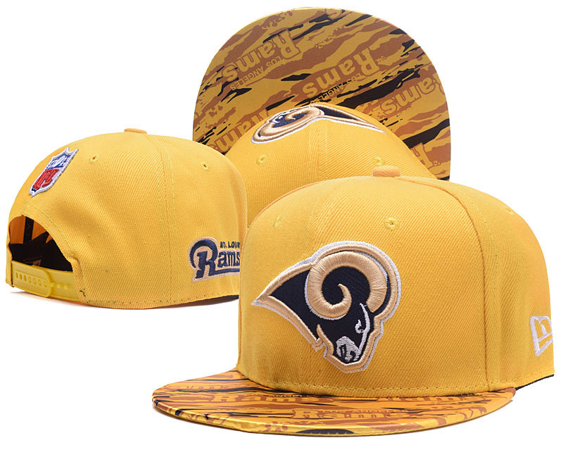 NFL Los Angeles Rams Stitched Snapback Hats 007