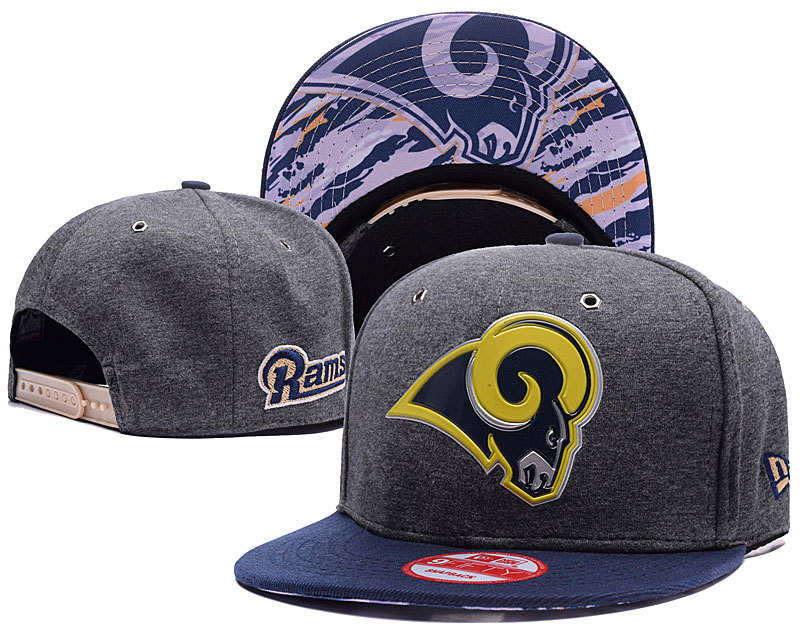 NFL Los Angeles Rams Stitched Snapback Hats 008
