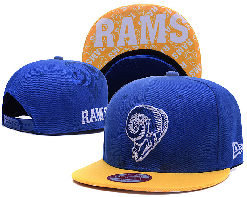 NFL Los Angeles Rams Stitched Snapback Hats 009