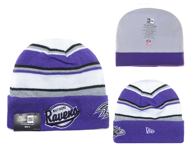 NFL Baltimore Ravens Stitched Knit Hats 005