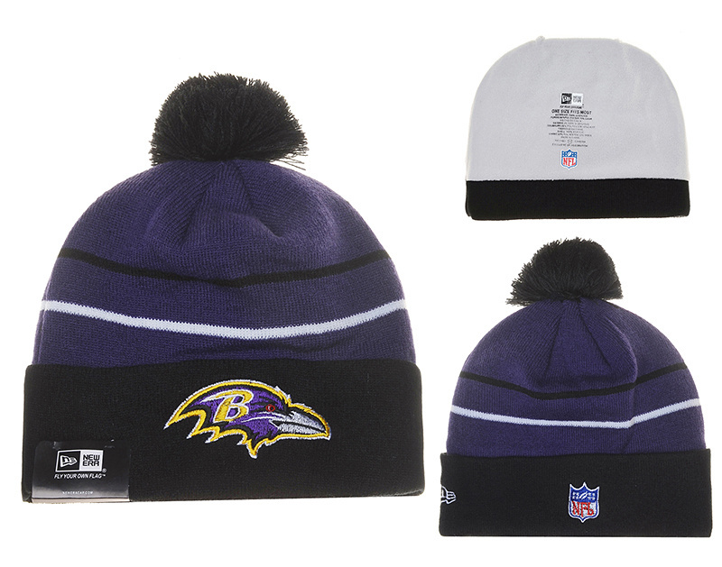 NFL Baltimore Ravens Stitched Knit Hats 006