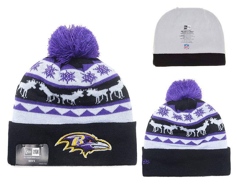 NFL Baltimore Ravens Stitched Knit Hats 008