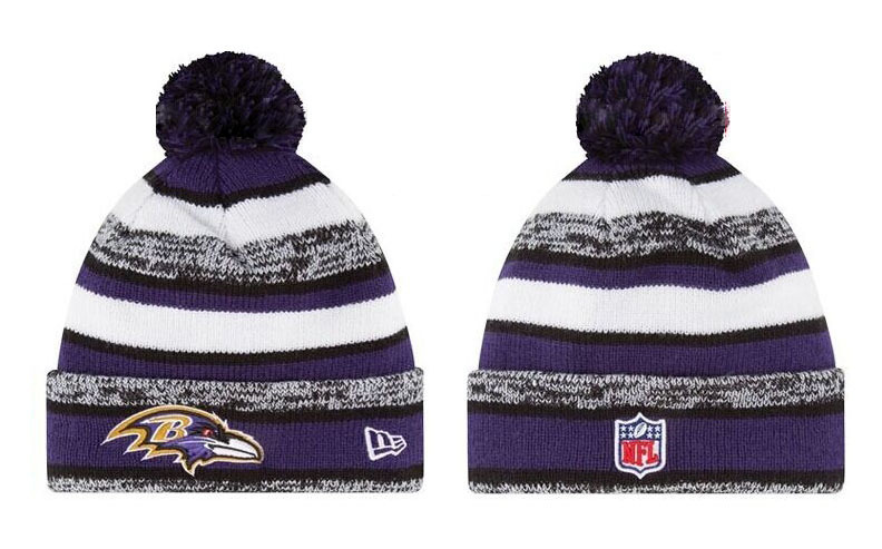 NFL Baltimore Ravens Stitched Knit Hats 009