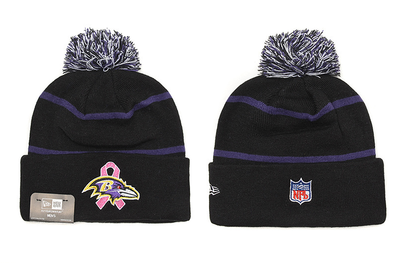 NFL Baltimore Ravens Stitched Knit Hats 002