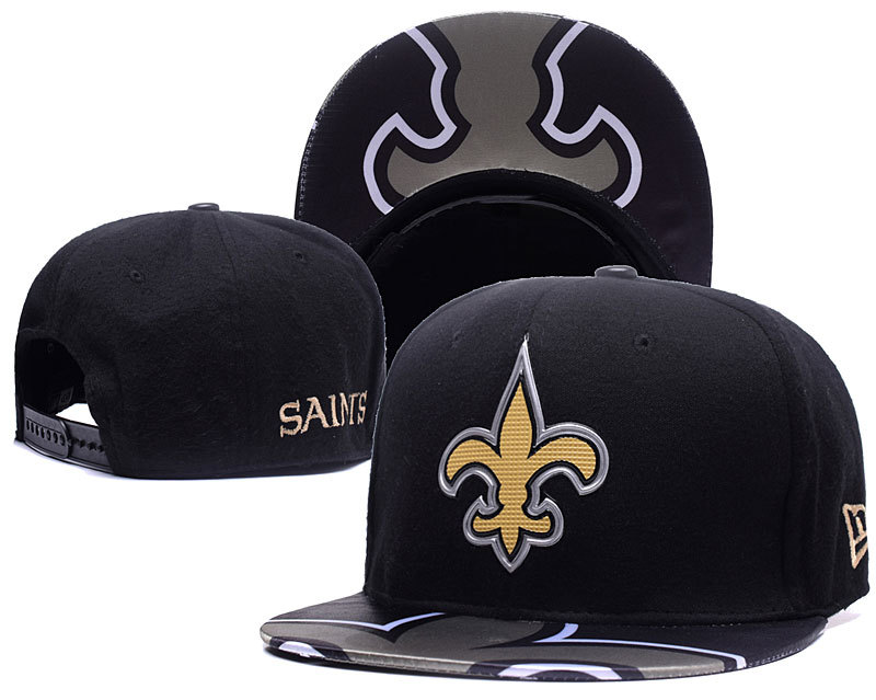 NFL New Orleans Saints Stitched Snapback Hats 002