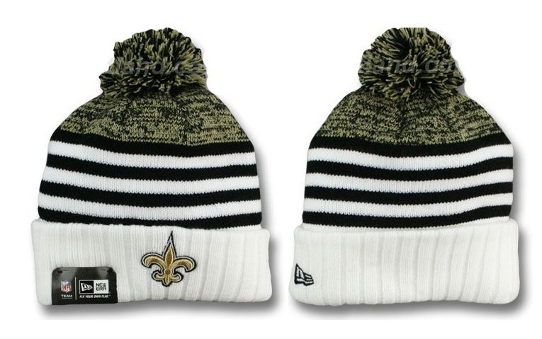 NFL New Orleans Saints Stitched Knit Hats 005