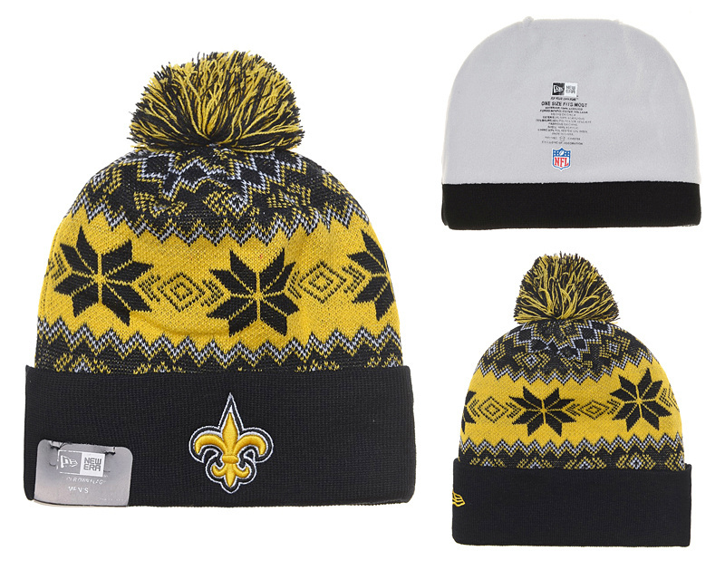 NFL New Orleans Saints Stitched Knit Hats 007