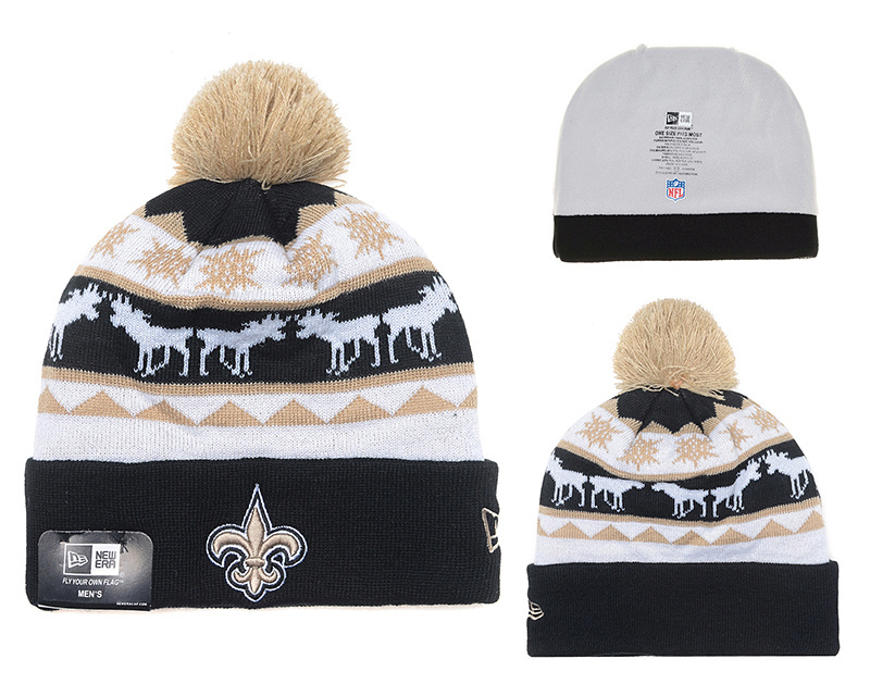 NFL New Orleans Saints Stitched Knit Hats 008