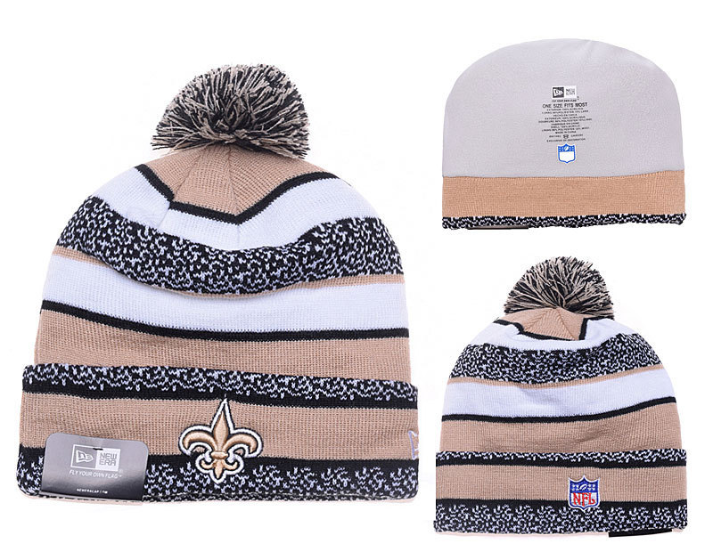 NFL New Orleans Saints Stitched Knit Hats 009