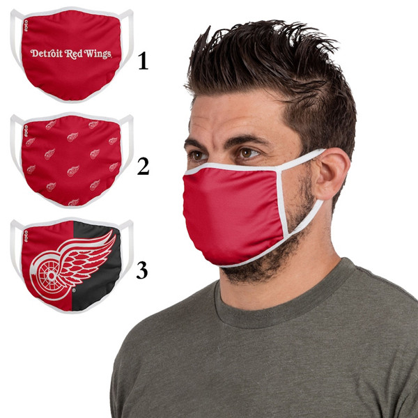 Detroit Red Wings Sports Face Mask 001 Filter Pm2.5 (Pls Check Description For Details)