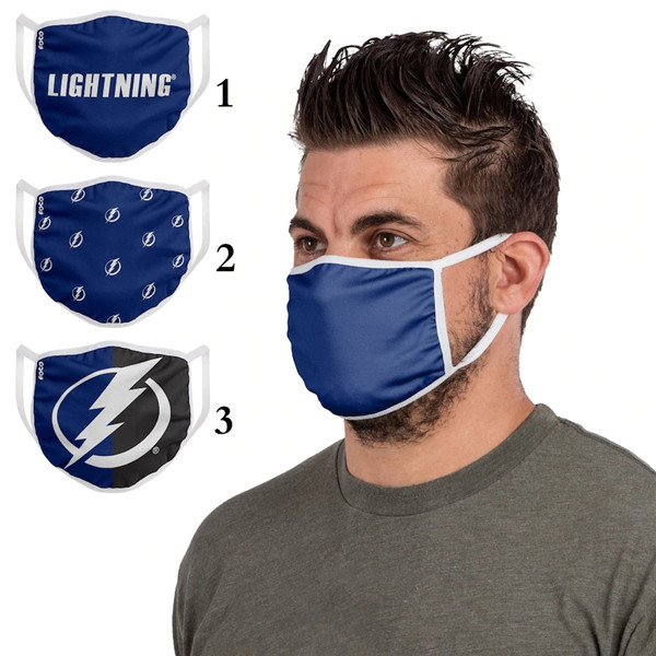 Tampa Bay Lightning Sports Face Mask 001 Filter Pm2.5 (Pls Check Description For Details)