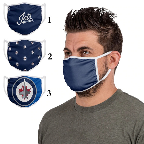 Winnipeg Jets Sports Face Mask 001 Filter Pm2.5 (Pls Check Description For Details)