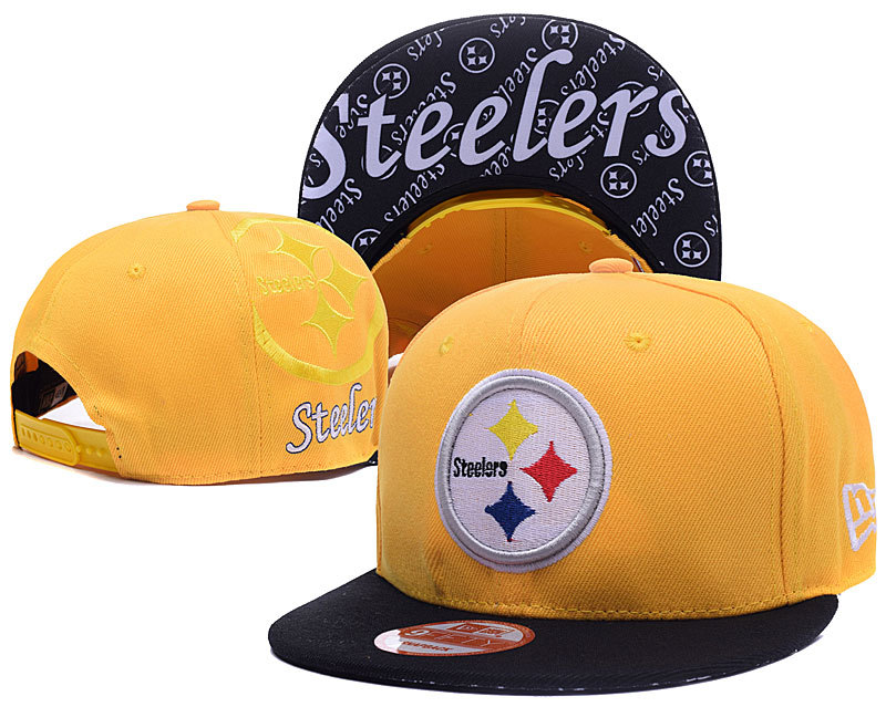 NFL Pittsburgh Steelers Stitched Snapback Hats 010