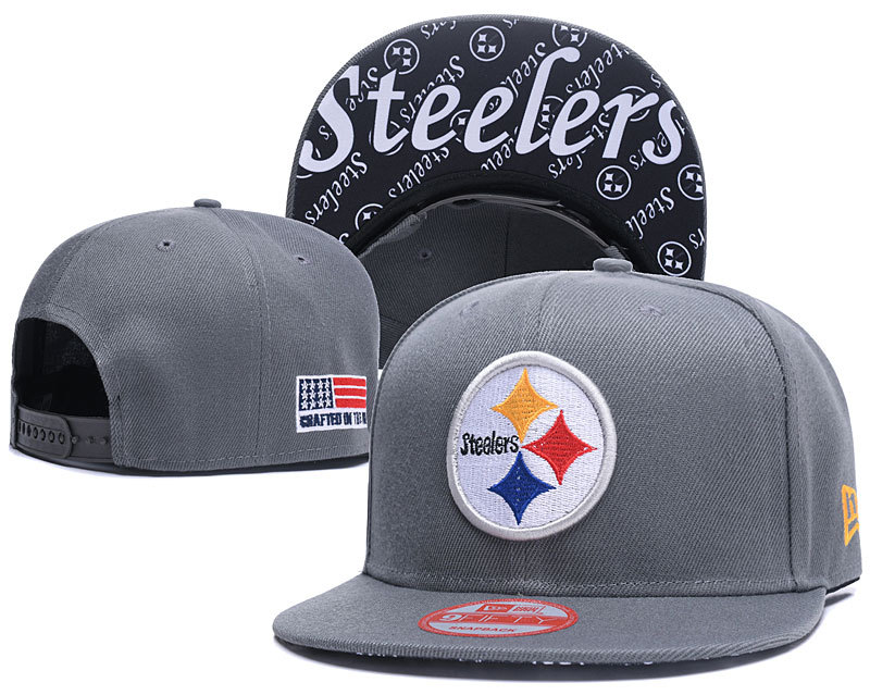 NFL Pittsburgh Steelers Stitched Snapback Hats 011