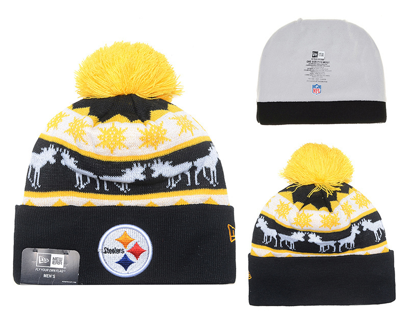 NFL Pittsburgh Steelers Stitched Knit Hats 018