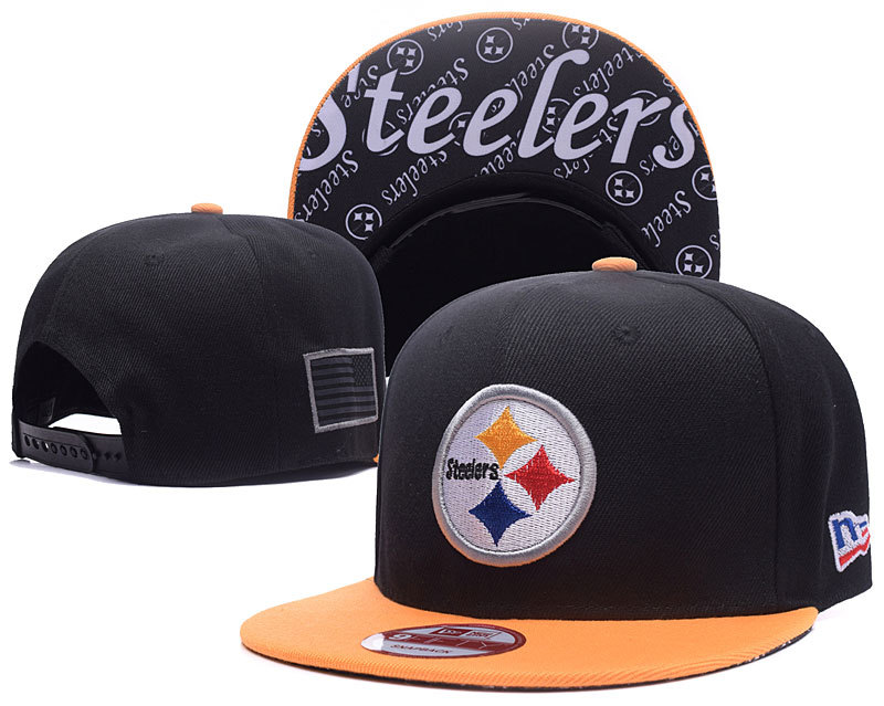 NFL Pittsburgh Steelers Stitched Snapback Hats 005