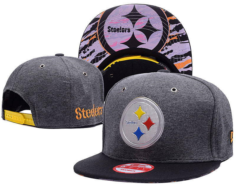 NFL Pittsburgh Steelers Stitched Snapback Hats 009