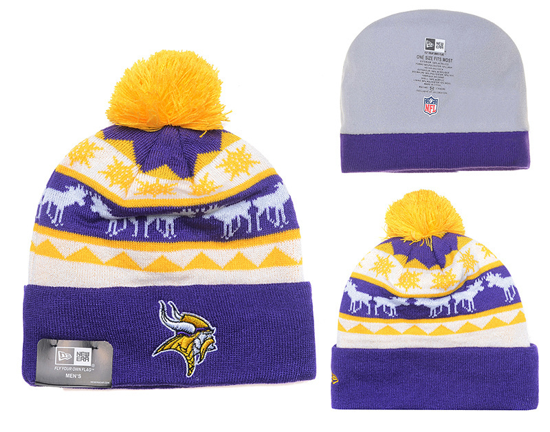 NFL Minnesota Vikings Stitched Knit Hats 012