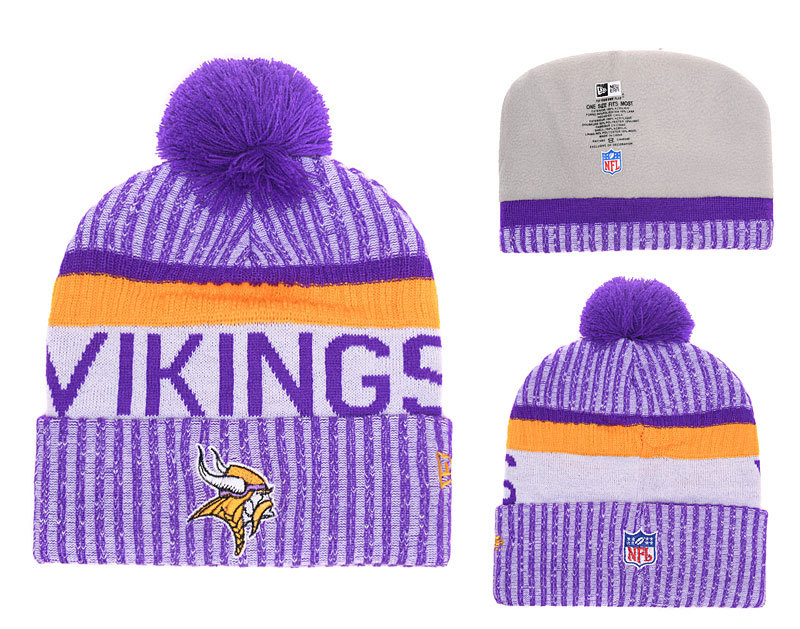 NFL Minnesota Vikings Stitched Knit Hats 004